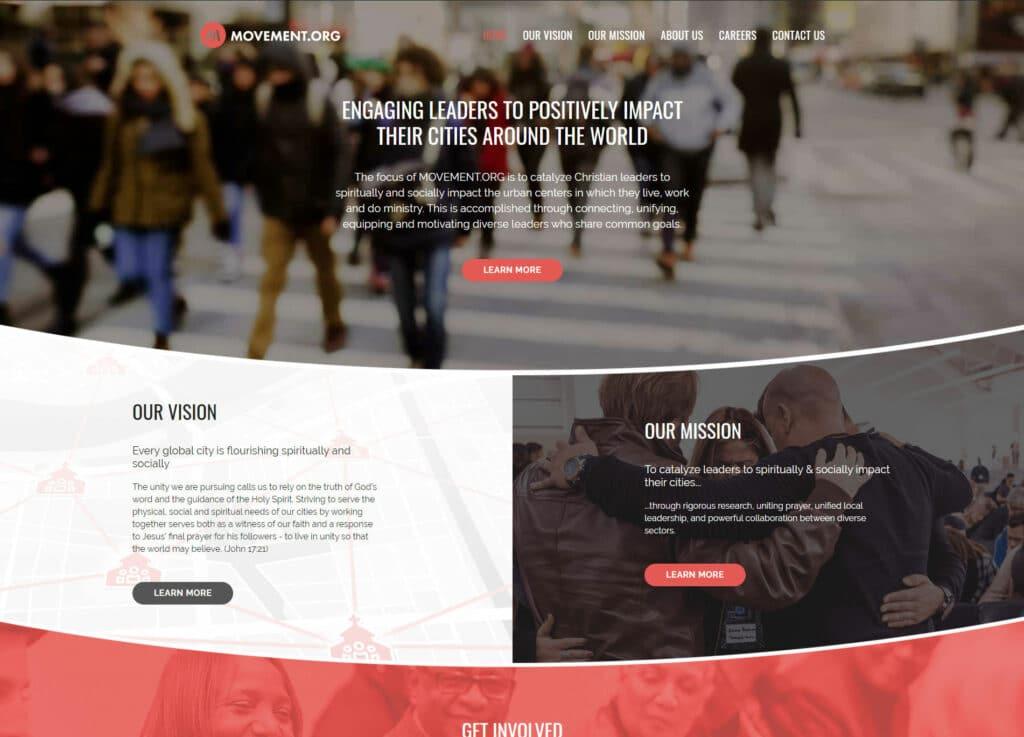 Movement.org Screenshot