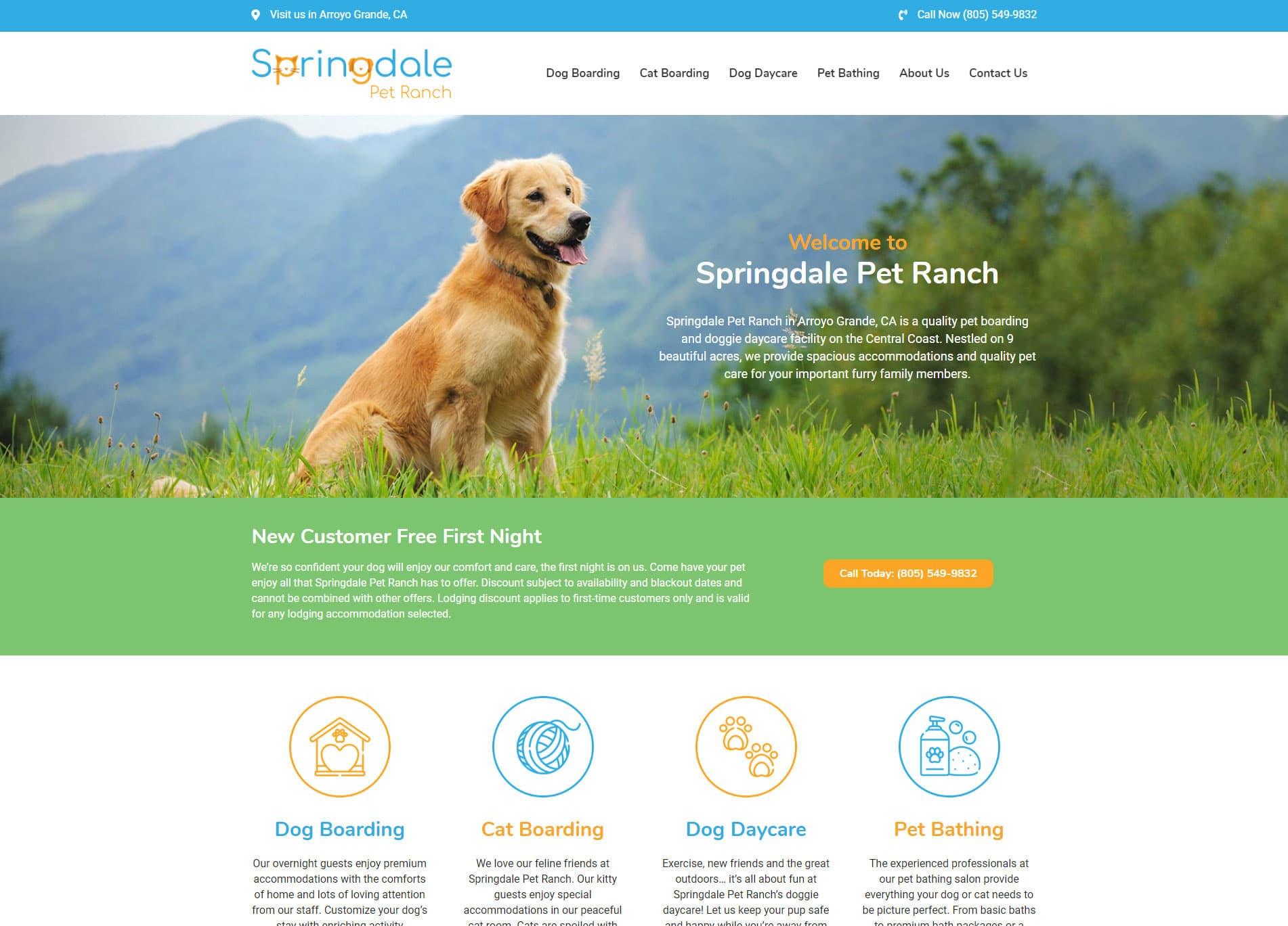 Springdale Pet Ranch screenshot