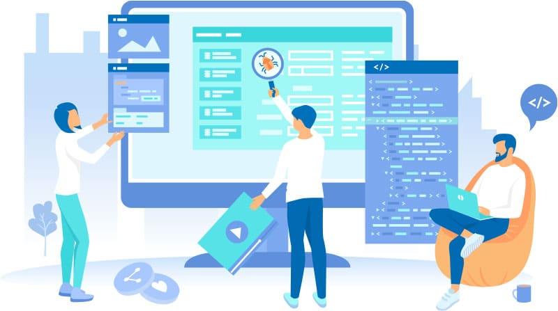 Web design behind the scenes